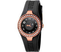 Puma Damen-Armbanduhr Unisex PU101122004 Analog Quarz