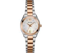 Damen-Armbanduhr Diamond Gallery Analog 98S143