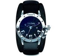 Herren-Armbanduhr Analog Quarz Leder 8501701