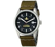 Herren-Armbanduhr Butlers Wharf Analog Quarz Nylon VV079BKGR