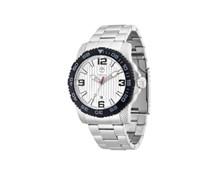 Timberland Herren-Armbanduhr XL Analog Quarz Edelstahl TBL.13613JSSB/04M