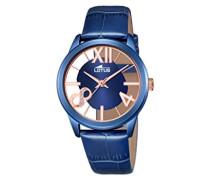 Lotus Damen-Armbanduhr Analog Quarz Leder 18307/1