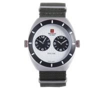 Herren-Armbanduhr XL Commando Analog Textil 06-4C1-04-001T6
