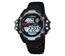 watches Herren-Armbanduhr XL Digital Quarz Plastik K5656/1