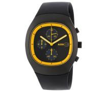 Unisex-Armbanduhr Chronograph Quarz Plastik silber AL21011