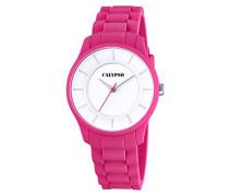 Damen-Armbanduhr Analog Quarz Plastik K5671/4