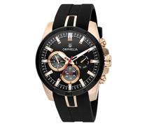 Herren-Armbanduhr Bernina Analog Quarz Silikon 86601