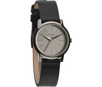 Nixon Damen-Armbanduhr XS Kenzi Analog Quarz Leder A3981531-00