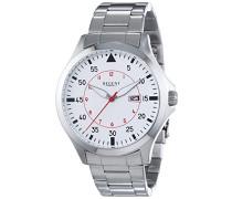 Regent Herren-Armbanduhr XL Analog Quarz Edelstahl 11150574