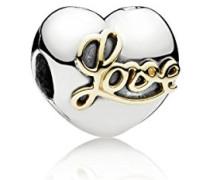 Damen-Bead Goldene Liebe 925 Silber - 791735