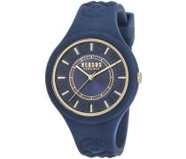 Versus  Damen -Armbanduhr  Analog  Quarz Silikon SOQ090016