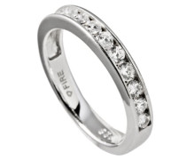 Damen-Ring 925 Sterling Silber Zirkonia Collectible´s weiß
