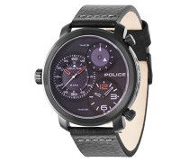 Police Herren-Armbanduhr MAMBA Chronograph Quarz 14500XSB/02