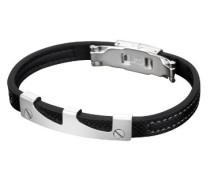 Style Jewelry Herren Armband Edelstahl Kautschuk 20.0 cm LS1273-2/1