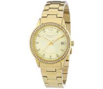 Regent Damen-Armbanduhr XS Analog Quarz Edelstahl beschichtet 12210924