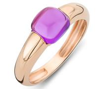 Damen-Ring 9 Karat (375) Rosegold Amethyst 1.5 ct Größe 56 MNA9007R56