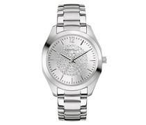 Caravelle New York Damen-Armbanduhr BOYFRIEND Analog Quarz Edelstahl 43L179