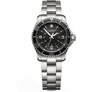 Victorinox Damen-Armbanduhr Maverick Analog Quarz Edelstahl 241701