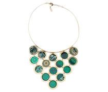 Desigual Damen-Collier Collar Rigido Scotland Versilbert 40 cm - 67G55G04051U