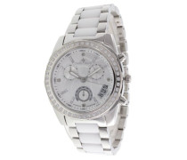 Damen-Armbanduhr Analog Quarz Premium Keramik Diamanten - ST13H01