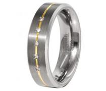 Boccia Damen-Ring Titan 5 Brillianten 0,025 Gr.55 0101-1955