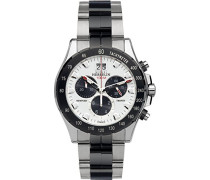 Newport Trophy Men' Damen Armbanduhr Chronograph Edelstahl silber/Armband 36670 BNA21