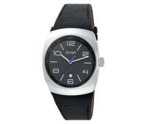 Herren-Armbanduhr XL Odyssey Analog Quarz Leder JP100681F02