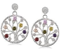 Damen-Ohrhänger 925 Silber Zirkonia mehrfarbig - JJER8724.1