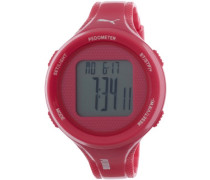 Puma Damen-Armbanduhr XL Step Digital Quarz Plastik PU911042004