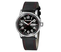 WENGER Unisex-Armbanduhr Analog Quarz Leder 01.0341.103