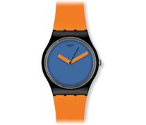 Swatch Damen-Armbanduhr XS Analog Quarz Plastik gb268