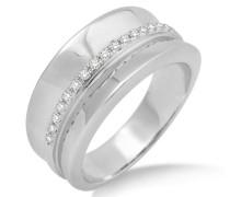 Damen-Ring  375 Weißgold mit Brillanten 0,17ct MP9016RP
