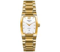 Certina Damen-Armbanduhr XS Analog Quarz Edelstahl beschichtet C012.309.33.037.00