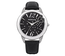 Morgan Damen-Armbanduhr Analog Quarz Leder M1177B