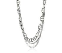 Dyrberg/Kern Damen Halskette Edelstahl Swarovski-Kristall 336243