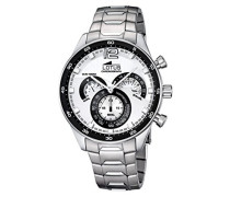 Herren-Armbanduhr Analog Quarz Edelstahl 10120/1