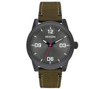 Nixon Damen-Armbanduhr Analog Quarz Nylon A9641462