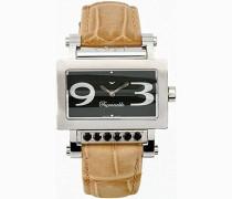 Damen-Armbanduhr Analog Quarz Beige FDRSC