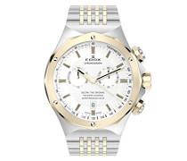 DELFIN THE ORIGINAL Unisex-Armbanduhr Analog Quarz Edelstahl 10106 357J AID