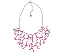Damen-Halskette Global traveller Versilbert-73G9EH53119U