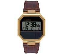Unisex Erwachsene Armbanduhr Digital Leder A944-849-00