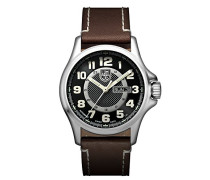 Herren-Armbanduhr Analog Automatik Leder - XL.1801.NV