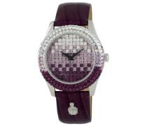 Burgmeister Damen-Armbanduhr Rainbow Analog Quarz Leder BMY01-144A