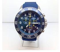 Nautica Herren-Armbanduhr Analog Quarz Leder NAI15501G