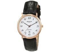 Regent Damen-Armbanduhr Analog Quarz Leder 12100613