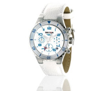 Sector Damen-Armbanduhr Analog Quarz Leder R3271611345