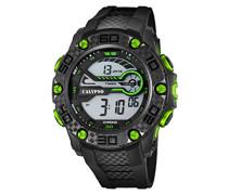 Herren-Armbanduhr Digital Quarz Plastik K5691/6