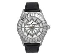 Damen-Armbanduhr Analog Quarz Leder DHD 006S-BA
