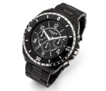 Police Herren-Armbanduhr Chronograph Quarz 13918JSBS/02M