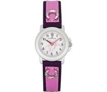 Unisex-Armbanduhr Analog Kunststoff rosa 647479